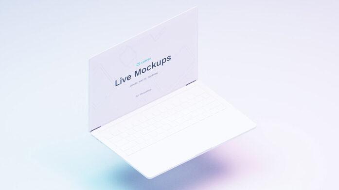 موکاپ حرفه ای لپ تاپ