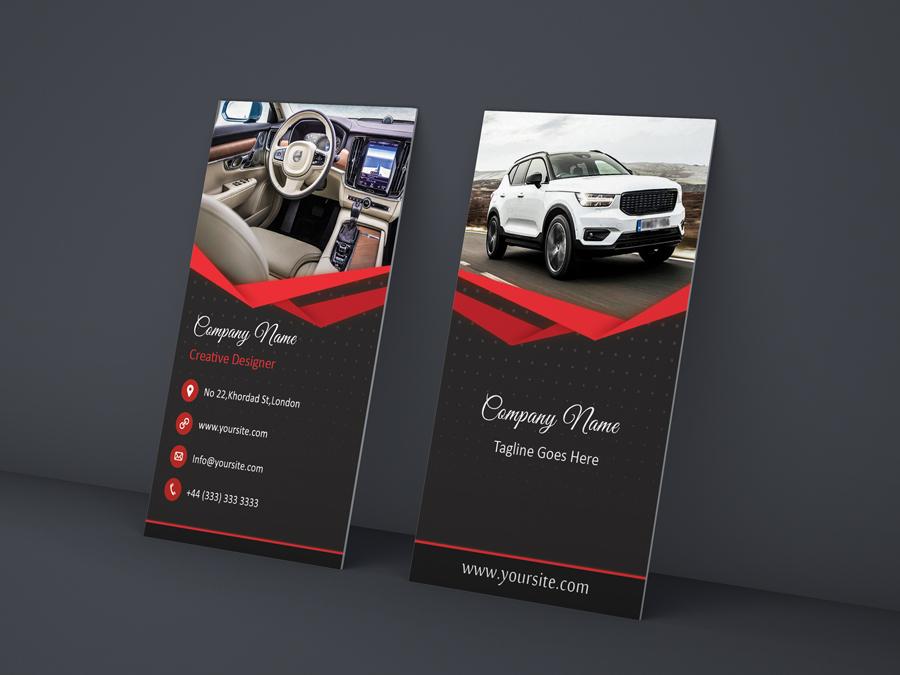 کارت ویزیت سرویس خودرو