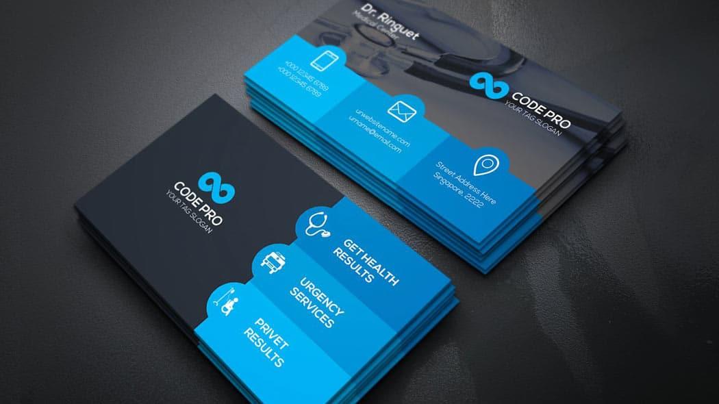 business-card-کارت-ویزیت-پزشکی