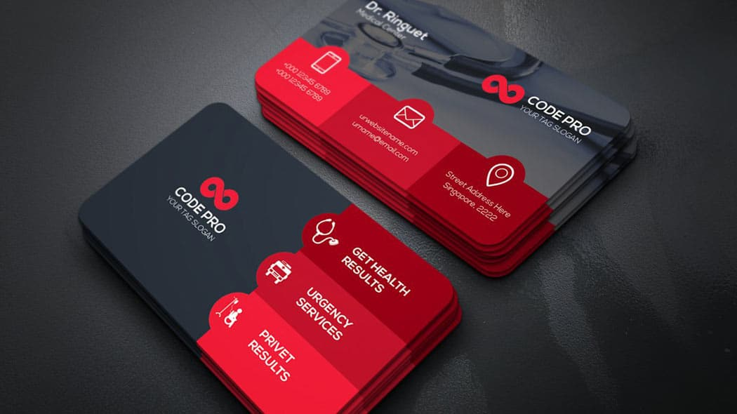 business-card-1-کارت-ویزیت-پزشکی