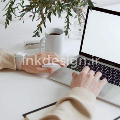 فوتیج آماده صفحه لپ تاپ