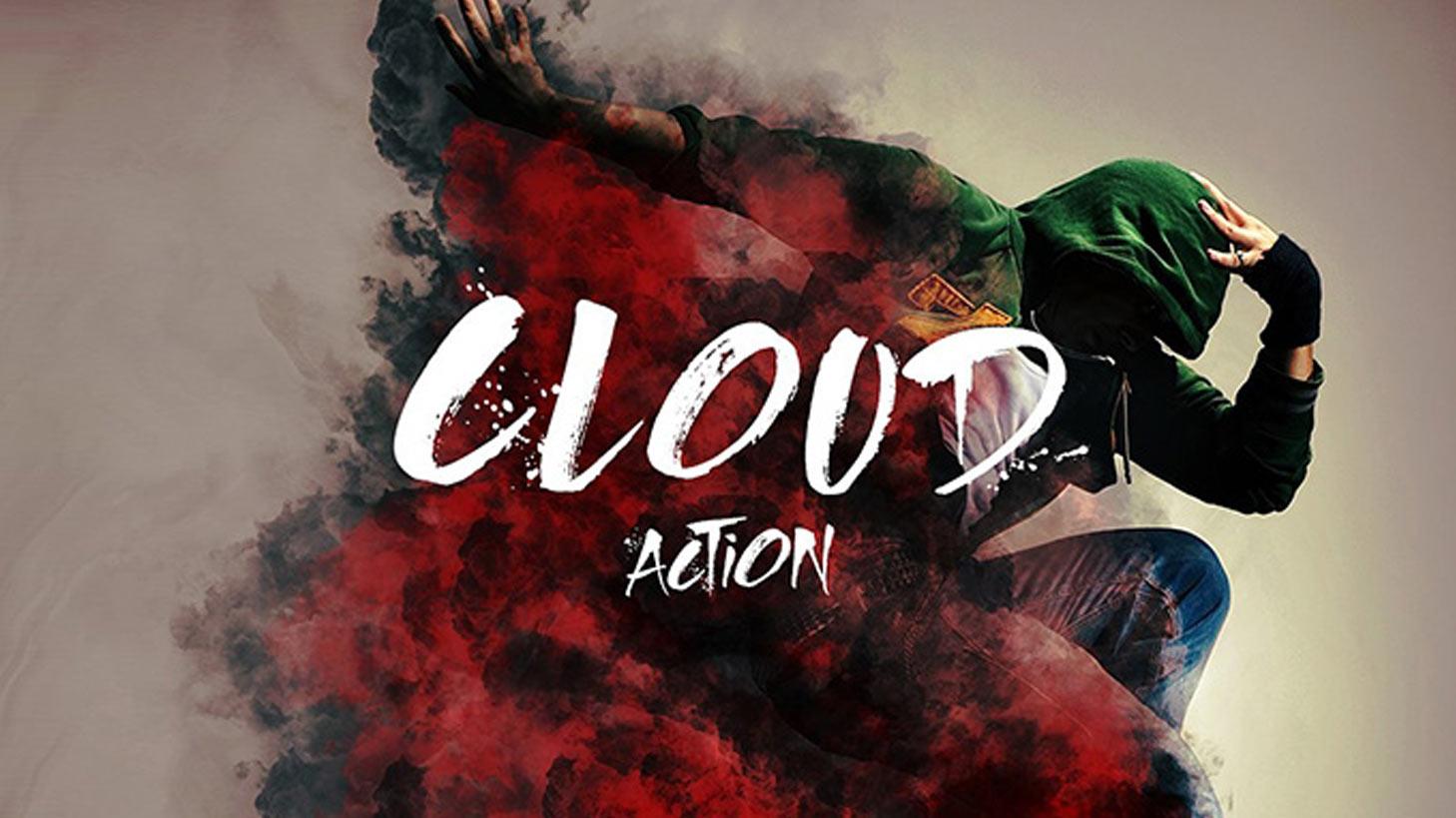 اکشن ابری فتوشاپ cloud actions
